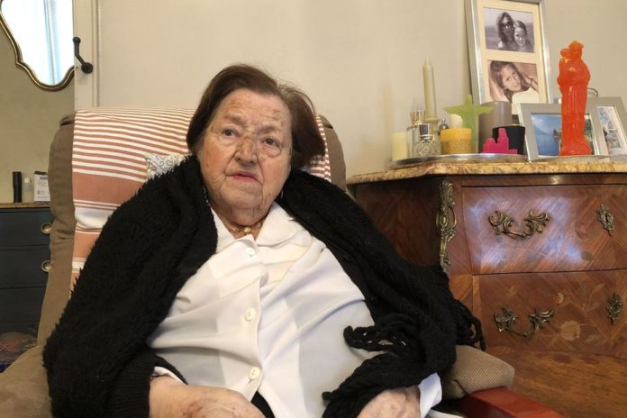 Jeanne Laval a survécu au Coronavirus. • © Jean Poustis