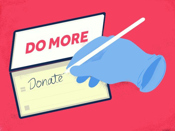 Spendenbereitschaft wächst